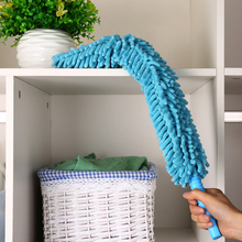 Chenille Microfiber Duster Cleaner Handle Flexible Washable Clean the Dust Furniture for Ceiling Fans Car(China)