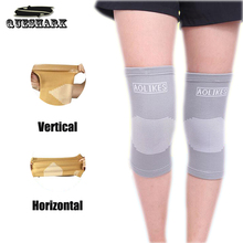 1Pcs Elastic Sports Dancing  Knee Pads Basketball Leg Sleeve Knee Support Brace Wrap Protector Patella Guard Volleyball Kneepad