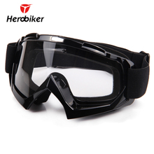 HEROBIKER Ski Snowboard Glasses UV Protection Motorcycle Riding Goggles Motocross Off-Road Dirt Bike Downhill Racing Eyewear(China)