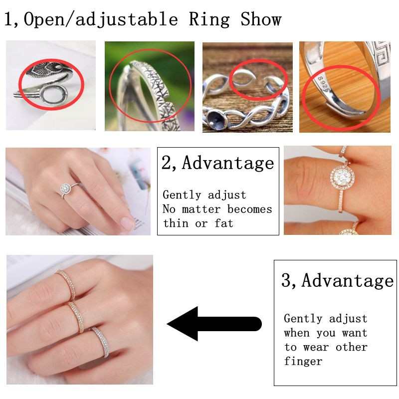 7 open ring types and advantages