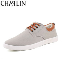 Fashion Canvas Casual Shoes Men Leisure Shoe Man's Canvas Shoes Lace-up Low Top Taylor Footwears EUR Size 45 Zapatos Solid Color