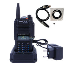waterproof radio Baofeng BF-A58 walkie talkie handheld cb pofung BF A58 FM radio transceiver 5W 1800mAh battery + usb cable