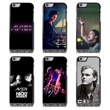 Avicii DJ Cover Case for IPhone 4 4s 5 5s 5c se 6 6s 7 8 X plus Rubber TPU Silicon soft(China)