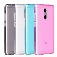 For Xiaomi Redmi Note 4X Case TPU Cover Ultra Thin Clear Pudding Phone Coque Case For Redmi Note 4 X Soft Silicone Protector Bag