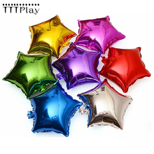 5pcs/lot 18 inch Large Pentagram Aluminum Balloons For Children Birthday Party Supplies Wedding Decoration Party Foil Balloons(China)