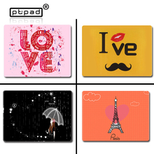 Hot Sale Lovely cute creative Cartoon locking edge gaming mouse pad game computer office mousepad for office and home for lover