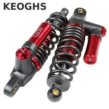 Keoghs Motorcycle Rear Shock Absorbers 270mm Hole To Hole Not Adjustable One Pair Free Shipping For Yamaha Scooter Modify(China)