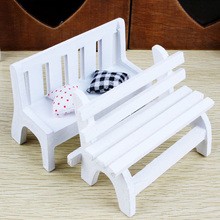 Japanese Zakka Grocery Mini Chair Wooden Ornaments Model Handicrafts Shooting Props Children's Toys