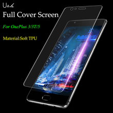 UVR Clear Soft TPU Film Screen Protector For Oneplus 3/3T/5 Transparent Full Coverage Explosion Proof Film (Not Tempered Glass)