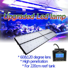 DSunY New support wifi Led Aquarium Lighting Programmable for coral reef SPS/LPS aquaria tank Dimmable led aquarium light(China)