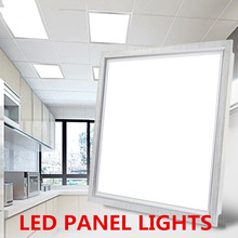 6pcs/lotFlat LED panel lamp ceiling light SMD2835 18W/30W/48W 600*600mm high brightness School/Hospital/Super Office/Hotel light