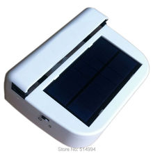 High quality New car solar fan Solar Sun Power Car Window Fan Auto Ventilator Cooler Air Vehicle Radiator