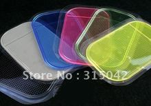 Phone Holder, Holding Mat for cell phone, magic PU gel anti slip pad, 10pcs/lot OPP bag packing, accept mix colors
