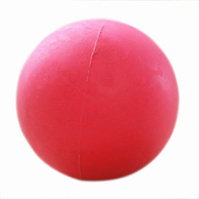 Solid bite-resistant elastic Non-toxic and odorless rubber pet toy/dog ball/toys for dog-M(China)