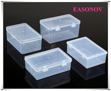 High - quality pp transparent plastic box storage box rectangular components food packaging box 2pcs / lot