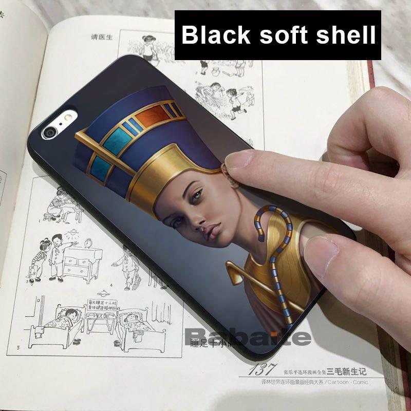 Egypt Nefertiti Anubis Ankh