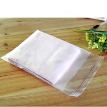 100Pcs/ Lot 20*30cm Cellophane Transparent Poly Pouch Ornaments Ring Frosted Self Adhesive Seal OPP Plastic Package Bag