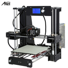 2017 Hot sale!! Easy Assemble Reprap prusa i3 3D printer Kit DIY Anet A6/Auto Leveling A8/A8 3D Printer With Free Filament