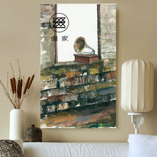 No Framed Classical Phonograph oil painting Print Painting On Canvas For Living Room