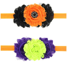 20pcs Best Deal New Good Quality Novelty Girl Halloween Headdress Elastic Hair Band Headband Gift WS006(China)