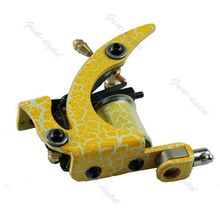 New Design Pro Tattoo Machine Gun Shader Liner 8 Wrap Coils For Power Supply(China)