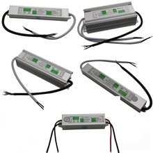 Waterproof IP67 DC 24V 10W 15W 20W 36W 45W 60W 80W 120W Electronic Driver outdoor power supply led strip light transformer