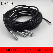 LEMO Connector FGG 0B 1B 2 3 4 5 6 7 8 9 10 14 16 Pin Connector Welding Cable 1M RRI MINI Camera Power Flying Leads Cable