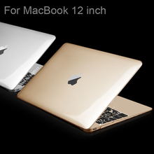 Fashion GOOD Quality ULTRA THIN Matte Case For Apple macbook 12 inch laptop bag For Mac book 12inch Retina DISPLAY