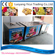 Best Price for Commercial Use Thailand Fried Ice Cream Machine/Fried Ice Cream Roll Maker