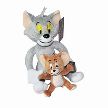 "Free Shipping 2pcs/set Tom And Jerry Mouse 11"" Plush Doll Figure(China)"