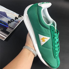 2017 Latest Version Le Coq Sportif Men's Running Shoes Sneakers High Quality Men's Sports Shoes Green/White Color 2
