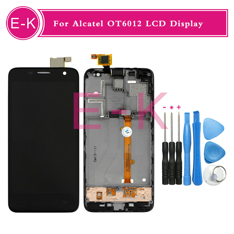 For Alcatel One Touch Idol Mini 6012 6012A 6012D OT6012 LCD Display+Touch Screen Digitizer Assembly Replacement+tools<br><br>Aliexpress