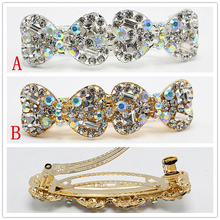 1pcs Fashion Headband Hairpins Vintage Hair Pin Women Hair Clip Party Hair Jewelry Vintage Crystal Accessories 1928-3