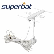 Superbat TV antenna indoor Yagi antenna high - definition digital signal receiving antenna with F male plug Connector(China)