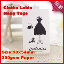 500PCS woman cloth   Skirt lable  DIY custom clothing label,personalized labels,custom hang tags,custom shirt tag labels