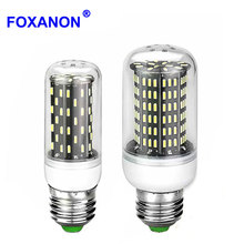 Dimmable E27 E14 4014 Led Lamp 220V lampara Led Corn Bulb Ampoule Led Spotlight Leds Lamps Segmented dimming Light