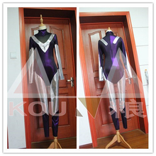 Free Shipping LOL DJ Sona Ethereal Cosplay Costume Halloween Uniform Outfit Jumpsuit+Shoes Covers+Gloves Custom-made
