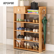 Shoe cabinet Multi-layer shoe frame Simple household storage shelves Multifunctional dustproof shoe rack shoe hanger(China)