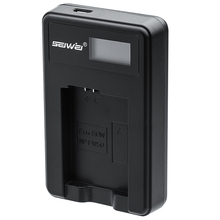 NP-FW50 NPFW50 NP FW50 USB Battery Charger For Canon A55 A37 A33 A5000 A5100 A6000 EX 5T 5R 5TL 5D A7R A7 with LCD screen
