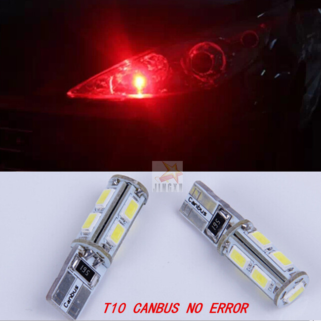 2 x CANBUS No Error T10 W5W 194 168 Clearance Parking Lights Marker Lamps LED Bulb  For Mercedes W211<br><br>Aliexpress