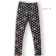 New Arrive winter girls' leggings,kids clothing warm pants children's cotton casual trousers,more thick pants for kids(China)