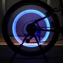 1pc Waterproof Car Bike Bicycle LED Tire Wheel Valve Led Flash Light New Arrival Colorful Cycling Automatic Wheel Spoke Light(China)