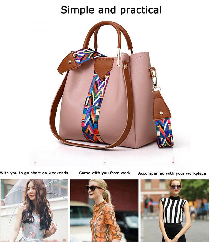 pink handbags for women