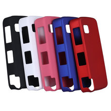 High Quality Case For Nokia 5230 Rubber Matte Hard Back Plastic Case Cover For Nokia 5230(China)