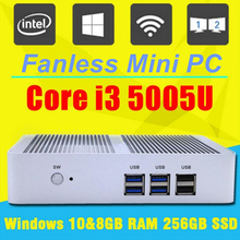 5Gen i3 5005U Topton Nuc Windows 10 Mini PC Micro PC Barebone Computer HD 5500 Graphics 4K HTPC 300M Wifi Bluetooth VGA HDMI