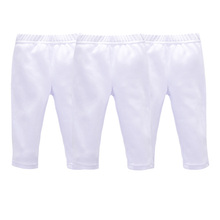 3 PCS/LOT Baby Pants Summer & Spring Fashion Cotton Infant Leggings Newborn Boy Pants Baby Girl Clothing 0-9 M Baby Trousers(China)