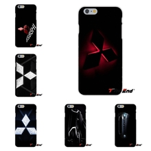 Hot for Mitsubishi Motors Logo Silicone Mobile Phone Case For iPhone 4 4S 5 5S 5C SE 6 6S 7 Plus Galaxy Grand Core Prime Alpha(China)