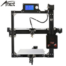 Black Anet A2 Plus Aluminum Metal 3D DIY Printer Kit Prusa i3 with TF Card Off-line Printing/Optional LCD Display