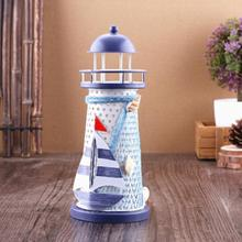 New 3 Size Lighthouse Beacon Tower Beach Starfish Shell Home Room Bedroom DIY Decorative Crafts Ornament Gift