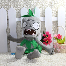 30CM 12'' Plush Toy Green Hula Skirt Zombie Doll Game Figure Statue Boy Toy Children Gifts Party Hot Sales Good Quality(China)